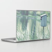 swallow Laptop & iPad Skins featuring {Swallow House} by Isabelle Lafrance Photography