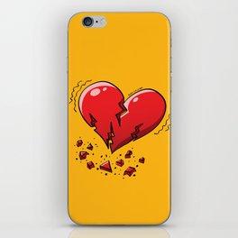 Extreme Heartquake iPhone Skin