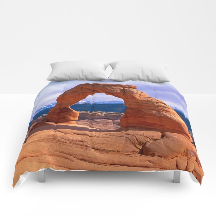 Arches national park Comforters