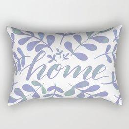 Watercolor home foliage – lilac Rectangular Pillow