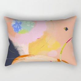 circles art abstract Rectangular Pillow
