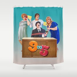 Jersey Shore: 9 To 5 Shower Curtain