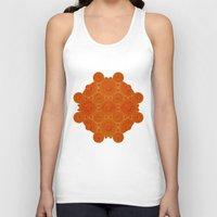 wooden Tank Tops featuring Wooden Whorls by Peter Gross