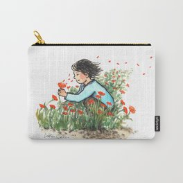 Poppy wishes Carry-All Pouch