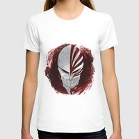 bleach T-shirts featuring Bleach - Hollow by Bradley Bailey