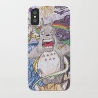miyazaki iPhone & iPod Cases featuring Miyazaki Mash-Up by Loveless D. Grim