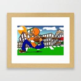 Run Faster.... Framed Art Print
