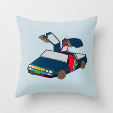 Cool Boys Like Flying Cars Throw Pillow
