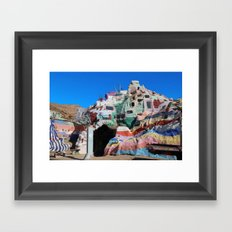 Salvation Mountain No. 3 Framed Art Print