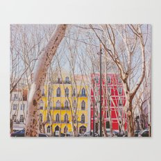 Colourful Street Canvas Print