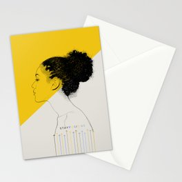 Stay Positive Stationery Cards