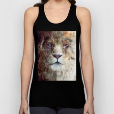 Lion // Majesty Unisex Tank Top