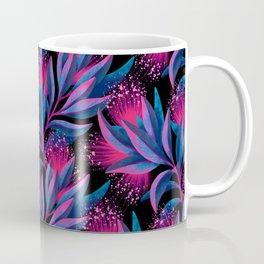 Pohutukawa - Pink / Blue Coffee Mug
