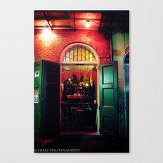 Absinth Bar Canvas Print