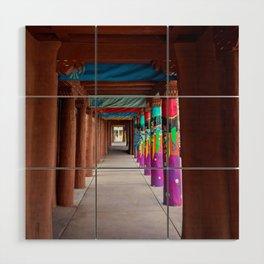 IAIA Museum Porch Santa Fe NM Wood Wall Art