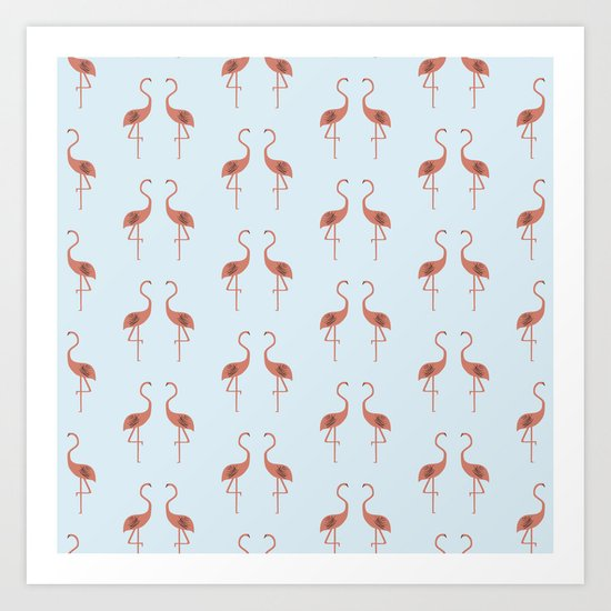 Flamingo / Flamenco  Art Print
