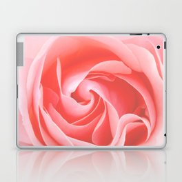 Velvet pink rose - Roses Flowers Flower Laptop & iPad Skin