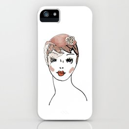 Whimsie Hat iPhone Case
