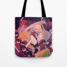 Rachel And Zack Chibi - Angels Of Death Tote Bag