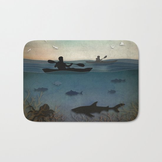 Sea Kayaking Bath Mat