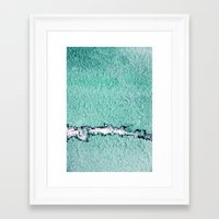 pain Framed Art Prints featuring pain by Claudia Drossert