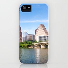 Bright Day in Austin iPhone Case