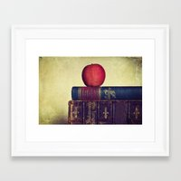 books Framed Art Prints featuring Books by Lawson Images