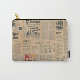 Vintage Fifties Magazine Carry-All Pouch
