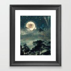 Moon Dream Framed Art Print