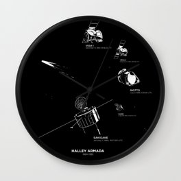 HALLEY ARMADA Wall Clock