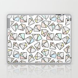 Polygonal stones and gemstones Laptop & iPad Skin