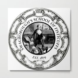 Swagborough's School of Fisticuffs Metal Print