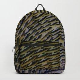 Woven Wicker Backpack