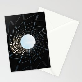 LOW ANGLE PHOTOGRAPHY OF MISSILE SILO HOLE Stationery Cards