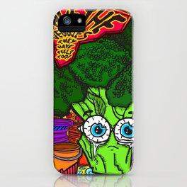 Save the Veggies! - Broccoli iPhone Case