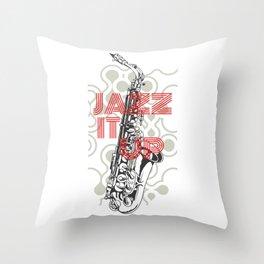 Jazz It Up Throw Pillow