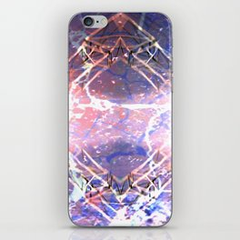 Abstract Ripple Reflection iPhone Skin
