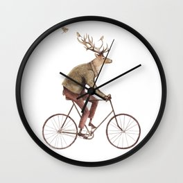 Even a Gentleman rides Wall Clock