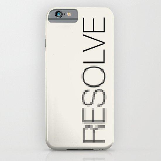 Resolve iPhone & iPod Case
