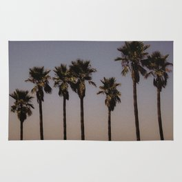 california palms Rug