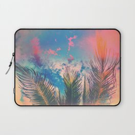 Silvery Skies Laptop Sleeve