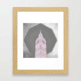 way high Framed Art Print