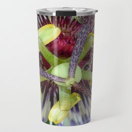 Passion Flower Close Up Travel Mug