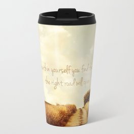 The Right Road Travel Mug