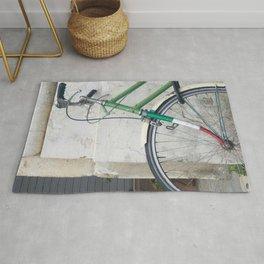 Classic bike Italy Rug