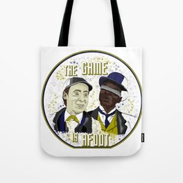 The Game is Afoot Tote Bag