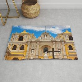 Cathedral in Antigua, Guatemala Rug