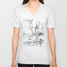 Desert Tree Unisex V-Neck