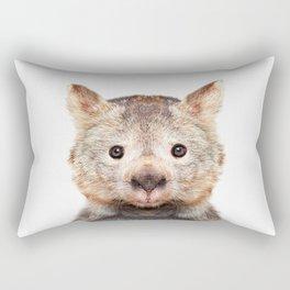 Wombat Photography Rectangular Pillow