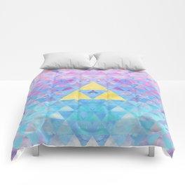 Zelda Geometry Comforters